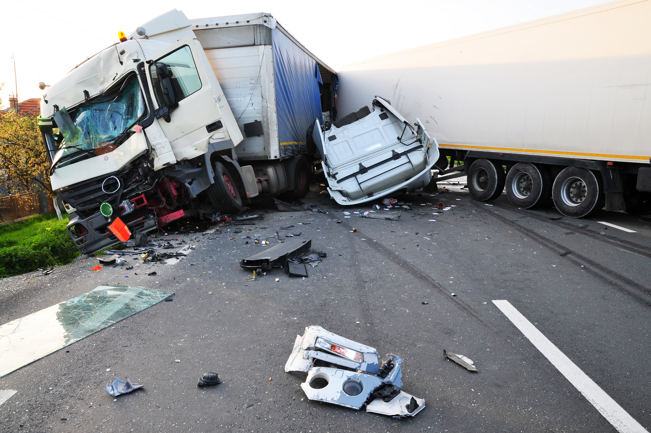 Types of Negligence to Consider in Trucking Accident Lawsuits